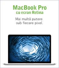 MacBook Pro cu afişaj Retina